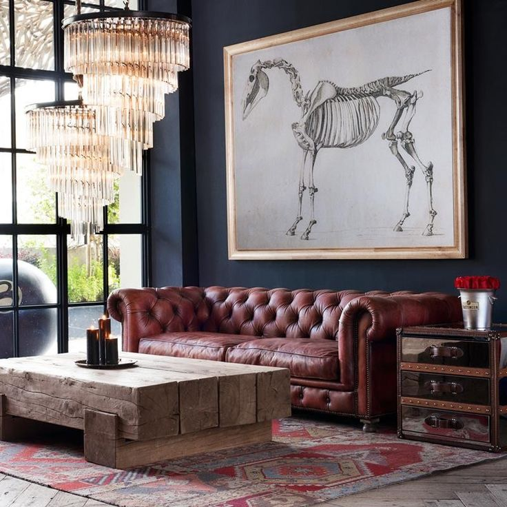 Chesterfield einrichtungsstil modern  Einrichten im Chesterfield-Look | HomeSofa – Blog